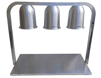 Mesa de Calentado de Comida y Platos - 3 Lámparas - Producto ...