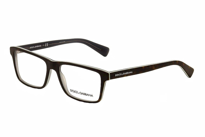Amazon.com: Dolce&Gabbana URBAN DG3207 Eyeglass Frames 2867-53 - Top ...