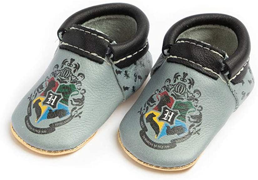 Freshly Picked - Soft Sole Leather City Moccasins - Harry Potter Baby Girl Boy Shoes
