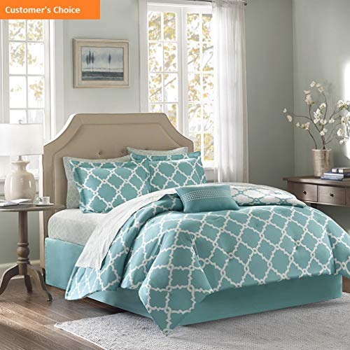 Set Sheet Bears Full Chicago (Mikash New Soft Essentials MPE10-051 Merritt Complete Bed and Sheet Set Aqua | Style 84601045)