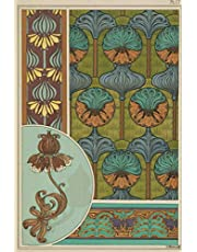 """2021 Daily Planner: Art Nouveau 2021 Daily Calendar With Goal Setting Section and Habit Tracking Pages, 6""""x9"""""""