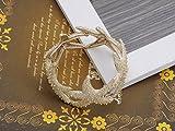 Alilang Stunning Delicate Intricate Design Golden Tone Linked Star Fish Fashion Bracelet