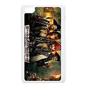 Pirates of the Caribbean ipod 4 Hard Phone Cases Clear STY101279