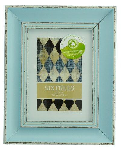 Sixtrees - Marcos para Retrato Estilo Gastado Shabby Chic para Fotografías de 6