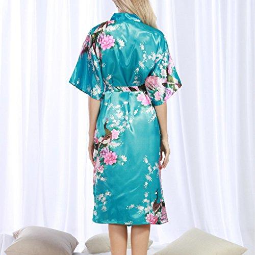 Lago Evedaily Vestaglia Blu Evedaily Vestaglia Donna Donna xYdwqTCOT
