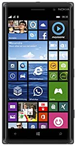 "Nokia Lumia 830 - Smartphone libre Windows Phone (pantalla 5"", 16 GB, 1.2 GHz, Qualcomm Snapdragon, 1 GB), negro"