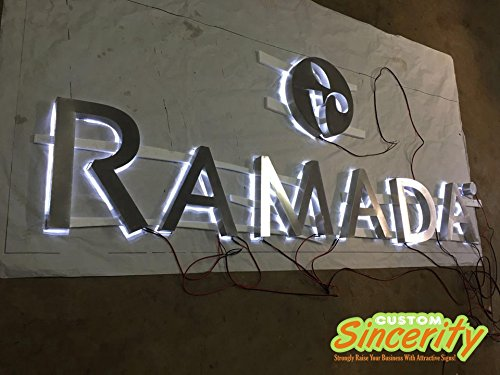 Outdoor Lighted Channel Letters in US - 3