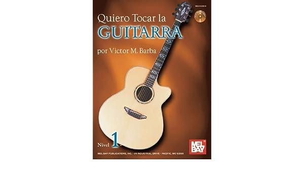 Quiero Tocar La Guitarra Book/CD Set Spanish Edition by Victor ...