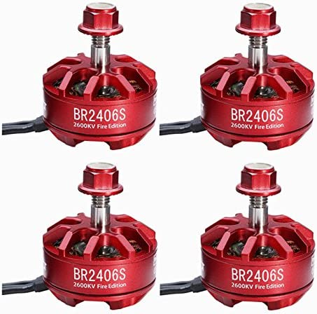 B078H2S94Z RacerStar 4pcs Fire Edition 2406 2600kV 2-4S Brushless Motor for 250 Racing Drones (CW Thread Adapter) 517XY9Dw8GL