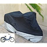 Premium Heavy Duty fabric cover for Adult Tricycle cover for Schwinn, Westport in Black HW400