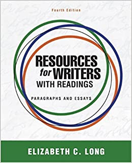 9780205043200: resources for writers with readings (4th edition.