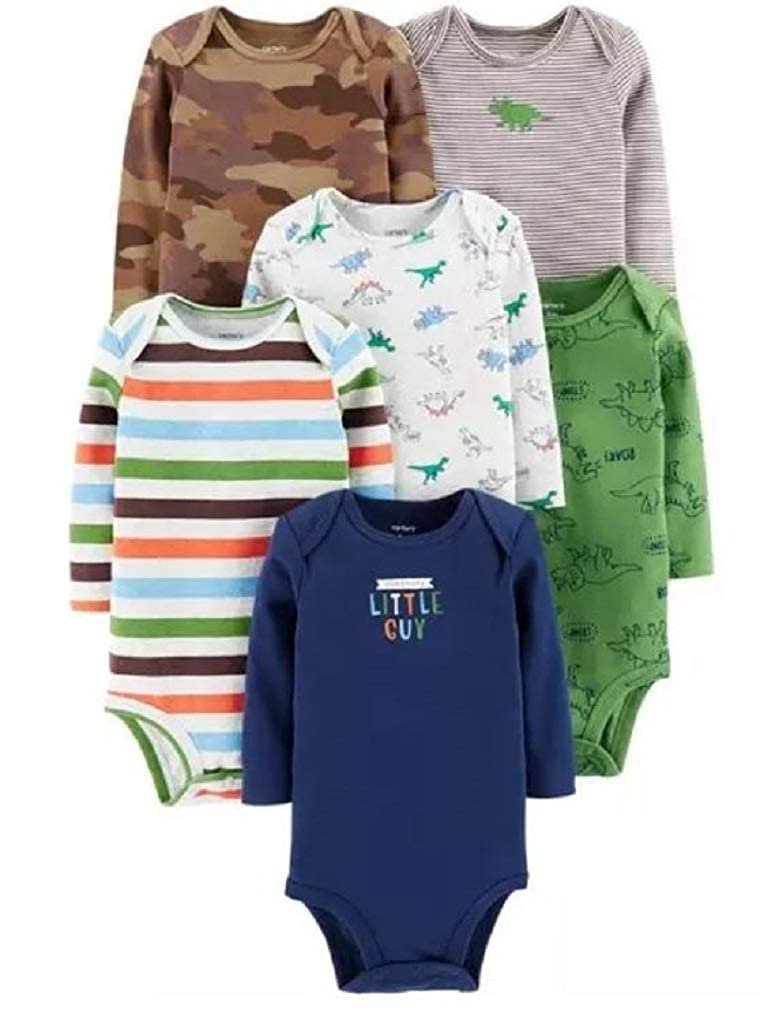 Carter's Baby Boys' Multi-pk Bodysuits 126g333 Carters