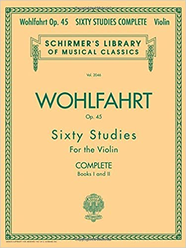 schirmer library of classics volume 2046 books 1 and 2 for violin schirmers library of musical classics