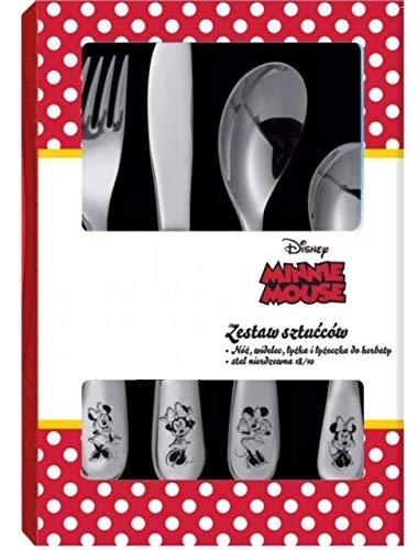 Cubiertos Cubertería Kinde Vajilla Kinde Disney Diferentes Modelos a Elegir, Minnie Mouse