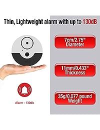 catsonic Premium juego de dispositivo de alarma ventana extra Sensores de alarma de 130 dB y vibración Compatibilidad universal y fácil instalación Ideal para casa, oficina & RV seguridad
