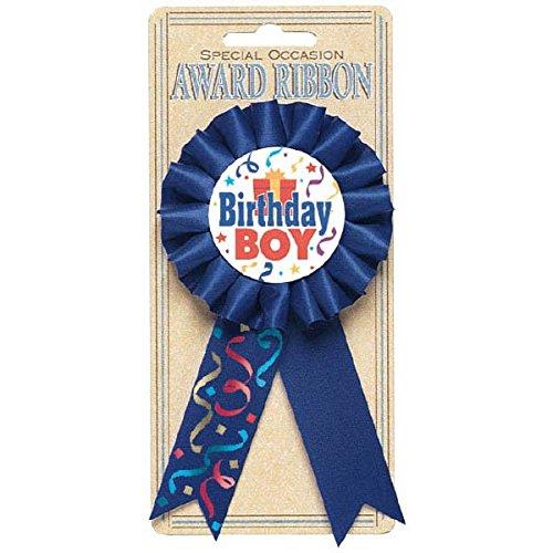 Amscan Birthday Boy Award Ribbon