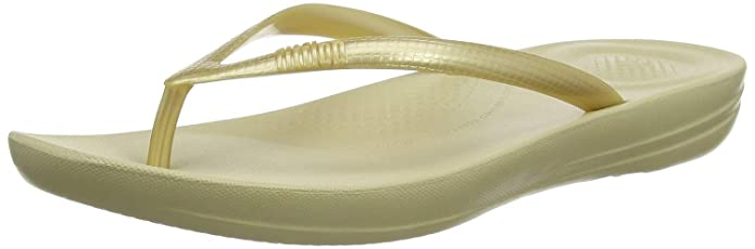 FitFlop Womens Iqushion Ergonomic Flip Flops, Adult