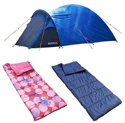 2 Man Camping Bundle - 1 tent/2 sleeping bags