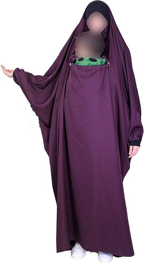 VAILANG Extra Longue Fibre De Lait Musulman Arabe Hijab /Él/égant Couleur Unie Pri/ère Islamique Foulard L/éger T/ête /Écharpe Enveloppe Ch/âle Bleu