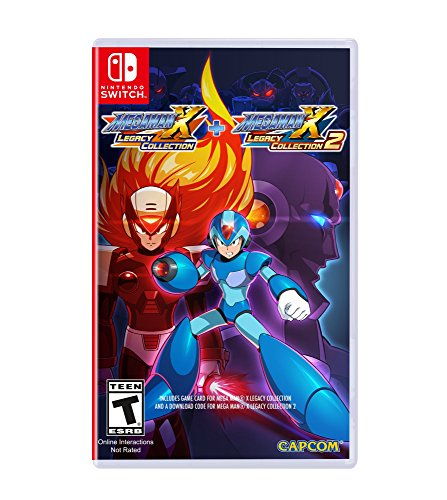 Mega Man X Legacy Collection 1+2...