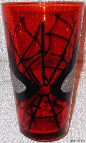 Marvel Comics SPIDERMAN 16 oz Boxed GLASSWARE
