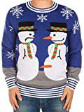 Product review for Ugly Christmas Sweater - Snowman Nose Thief Sweater by Tipsy Elves