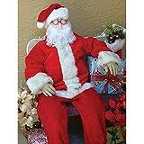 Posing Dummy 6-foot Tall Poseable Christmas Holiday Seasonal Decoration