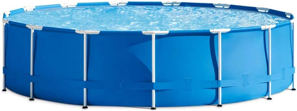 Familiar Piscina,Piscina Desmontable Tubular Large Frame Pool Apto para Jardín Patio Exterior - Size : 366x76cm: Amazon.es: Hogar