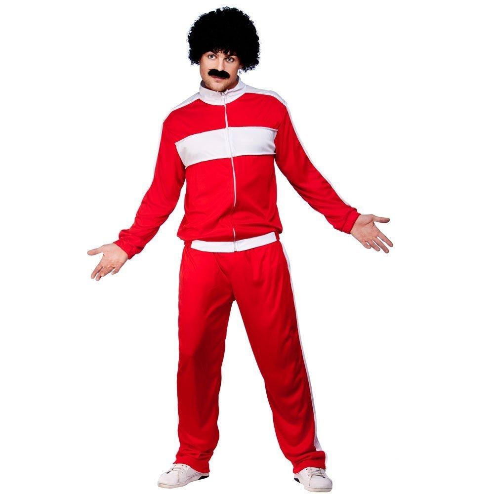 Rojo Scouser Chándal disfraz: Amazon.es: Juguetes y juegos