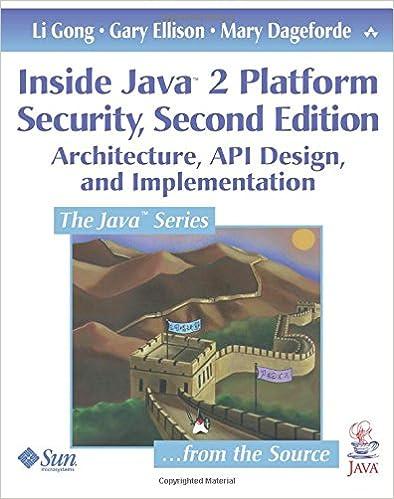 Inside Java Platform Security Architecture Api Design And