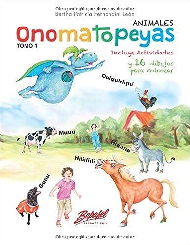 Onomatopeyas Animales Version Blanco Y Negro Spanish Edition