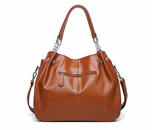 Leather AILEESE Tote Shoulder Female Messenger Travel Briefcase Casual Crossbody Women Top Bags Handbag Fashion 01 Wine Handle IAwAqH