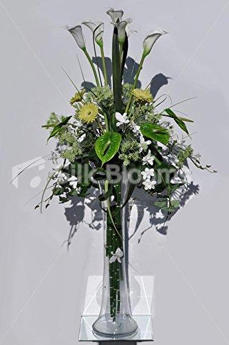 Amazon Extra Tall White Calla Lilies Green Gerberas