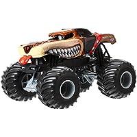 Hot Wheels Monster Jam Monster Mutt Vehículo de fundición a presión marrón, escala 1:24