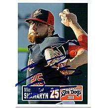 Mike Shawaryn 2018 Portland Sea Dogs Signed Card