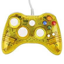 USB Wired Afterglow Yellow Gamepad Joypad Game Pad for Microsoft Xbox 360 xbox360 PC Windows Controller