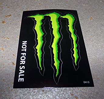 Monster Energy Drink Decal Sticker 4 X 3 Inches Amazon Com