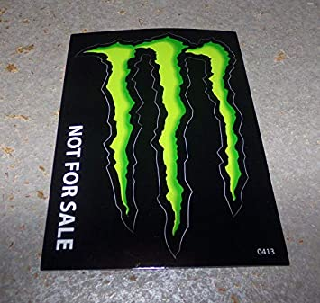 Monster Energy Drink Decal Sticker4 X 3 Inches 1