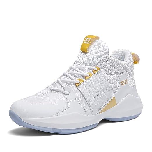 FJJLOVE Zapatos de Baloncesto, Rendimiento no Deslizan los Zapatos ...