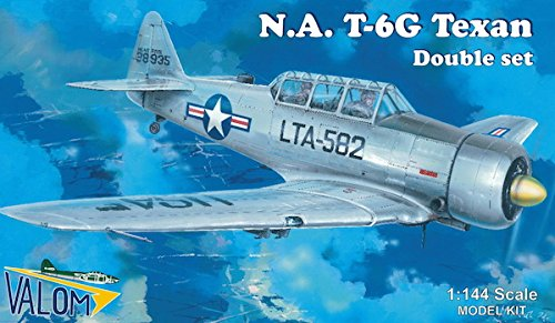 North American T-6G Texan Double Set (Two 1/144 Model for sale  Delivered anywhere in USA