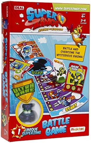 John Adams 10748 SuperZings Battle Game, Multi: Amazon.es: Juguetes y juegos