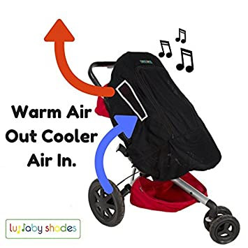 New Design Baby Sunshade With UV Protection Car Seat Sun Shade Cover For Pushchair