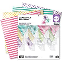 We R Memory Keepers Acetate Pad, 12 x 12-Inch, Clearly Bold, 12-Pack