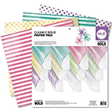 pinwheel punch board - We R Memory Keepers Acetate Pad, 12 x 12-Inch, Clearly Bold, 12-Pack