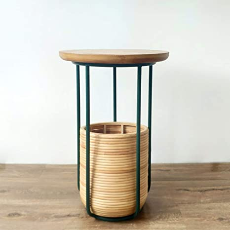 Amazon.com: Japanese-Style Small Table Sofa Table with ...