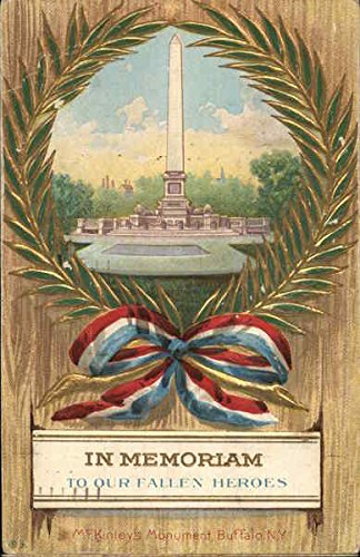 In Memoriam to Our Fallen Heroes Memorial Day Original Vintage Postcard -