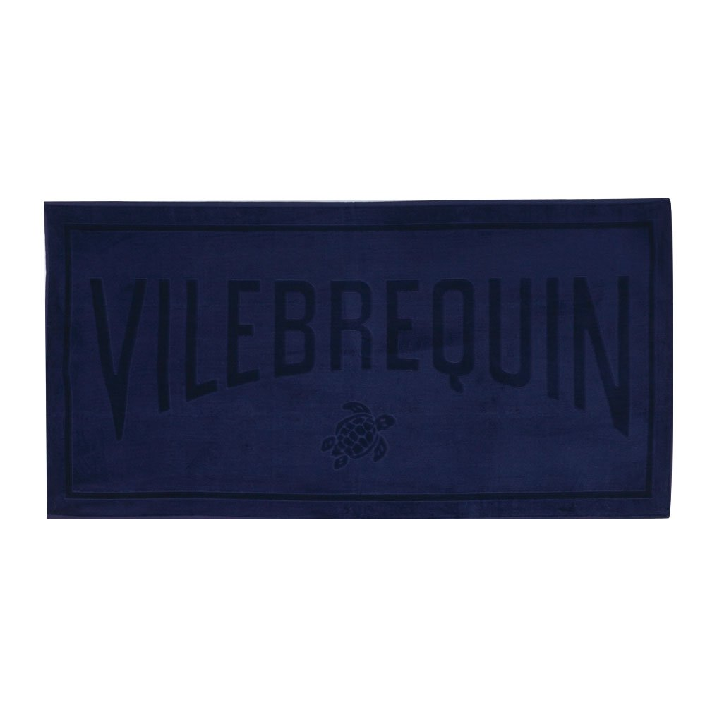Vilebrequin - Solid Jacquard-Strandtuch aus Frottee