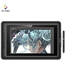 XP-Pen Artist13.3 IPS 13.3-Inch Drawing Monitor Pen Display Graphics Drawing Monitor with HDMI to Mac cable and Anti-fouling Glove (Black)
