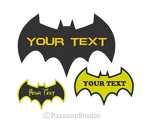 Custom Embroidered Batman Forever Dark Knight Sew on Patch (4 (Dark Knight Patch)