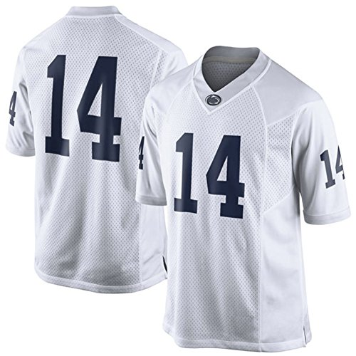 Penn State Jersey (NCAA Mens Penn State Nittany Lions White #14 Limited College Football Jersey)